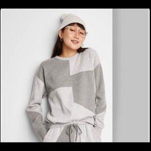 Wild Fable patchwork sweatshirt